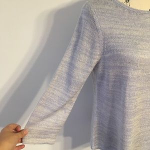 Chico's Sweaters - Chico's blue shimmer sweater M A1